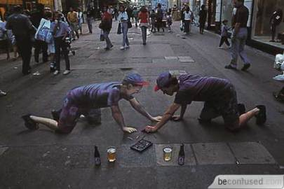 arte callejero 3d